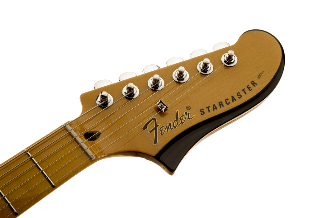 Fender Starcaster Maple Fingerboard Electric Guitar Natural Finish
