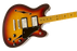Fender Starcaster Maple Fingerboard - Maple Aged Cherry Burst