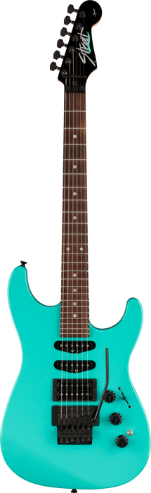 Fender Limited Edition HM Strat Rosewood Fingerboard Ice Blue Electric Guitar