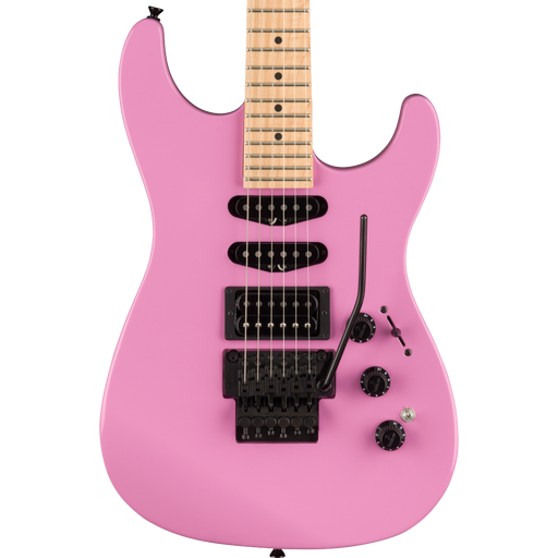 Fender Limited Edition HM Strat Maple Fingerboard Flash Pink Electric Guitar