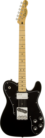 Fender Squire Vintage Modified Telecaster Custom Maple Fingerboard Black