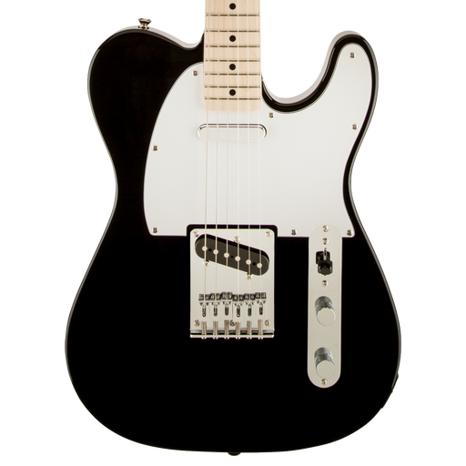 Squier Affinity Series Telecaster Maple Fingerboard Black Electric Guitar