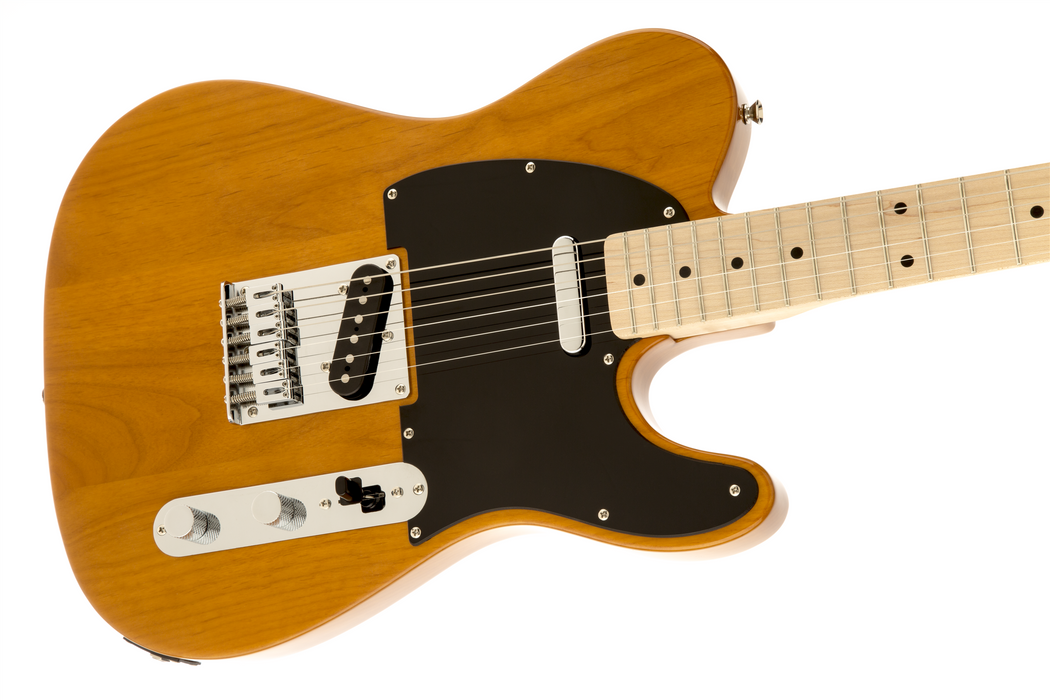 Squier Affinity Series Telecaster Maple Fingerboard Electric Guitar Butterscotch Blonde