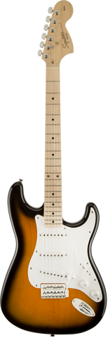 Fender Squire Affinity Series Stratocaster Maple Fingerboard 2 Tone Sunburst