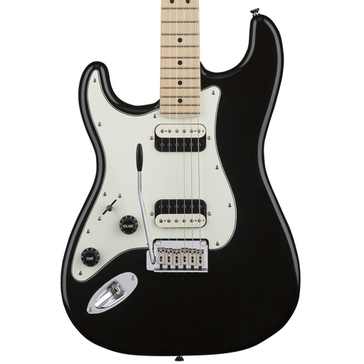 Squier Contemporary Stratocaster HH Left-Handed Electric Guitar - Black Metallic