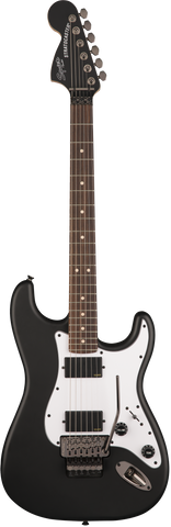 Fender Squire Contemporary Active Stratocaster HH Rosewood Fingerboard Flat Black