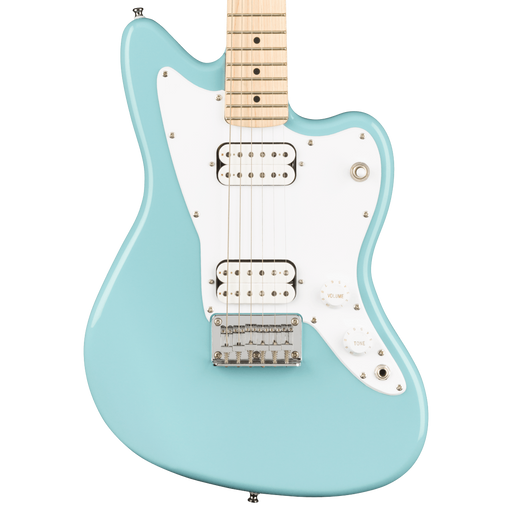 Squier Mini Jazzmaster HH Maple Fingerboard Daphne Blue Electric Guitar