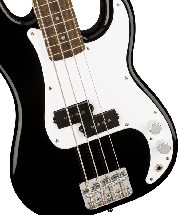 Squier Mini P Bass Laurel Fingerboard Black