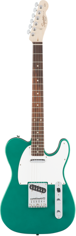 Fender Squire Affinity Series Telecaster Laurel Fingerboard Race Green