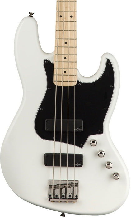 Fender Squier Contemporary Active Jazz Bass HH Maple Fingerboard Flat White