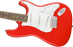 Squier Affinity Series Stratocaster Laurel Fingerboard Race Red Electric Guitar
