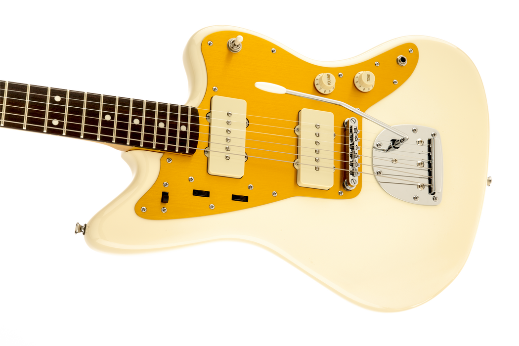 Fender Squier J Mascis Model Jazzmaster Laurel Fingerboard Electric Guitar Vintage White