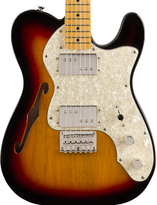 Squier Classic Vibe '70s Telecaster Thinline Maple Fingerboard  Sunburst
