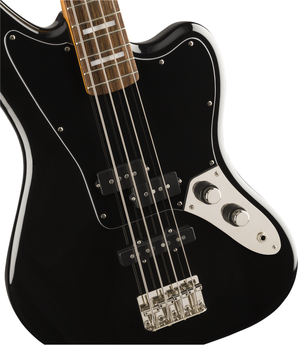 Squier Classic Vibe Jaguar Bass Laurel Fingerboard Black