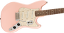 Squier Paranormal Cyclone Laurel Fingerboard Shell Pink Electric Guitar