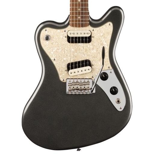 Squier Paranormal Super-Sonic Laurel Fingerboard Graphite Metallic Electric Guitar