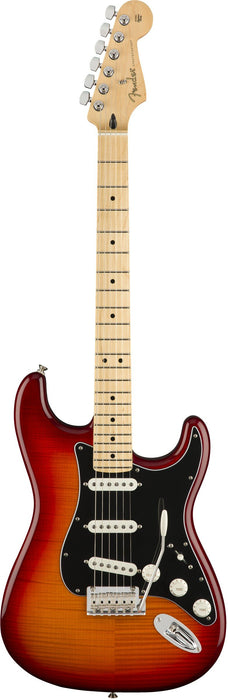 Fender Player Stratocaster Plus Top Maple Aged Cherry Burst