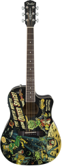 Fender Vince Ray Dreadnought Cutaway Acoustic-Electric Guitar  Outer Space
