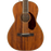 Fender PM-2 Parlor All Mahogany Acoustic Guitar Natural Finish With Case