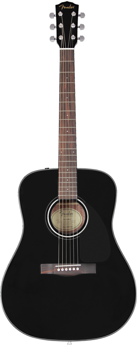 Fender CD-60 Acoustic Guitar Black