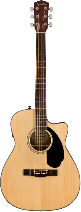 Fender CC-60SCE Cutaway Acoustic Electric Guitar Natural Finish