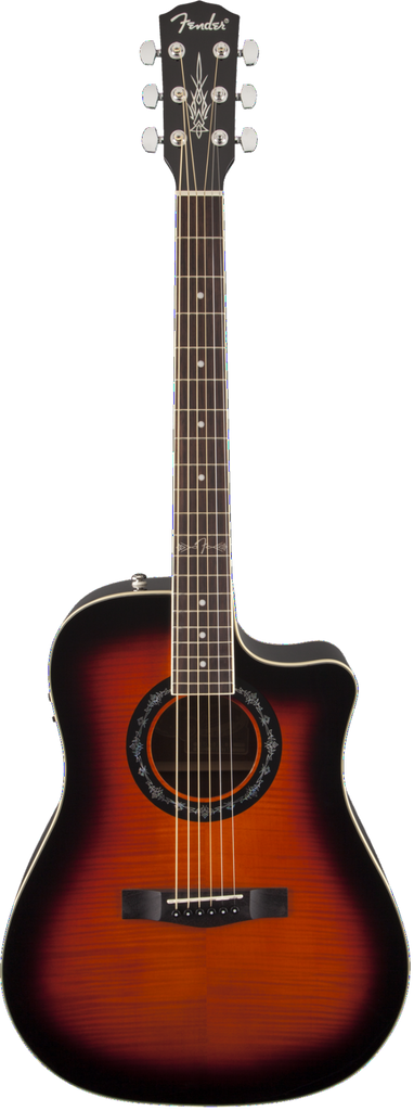 Fender T-Bucket 300CE Flame Maple 3-Color Sunburst