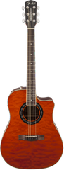 Fender T-Bucket 300CE Quilt Maple Amber