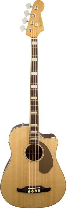 Fender Kingman Bass SCE Acoustic‑Electric Bass Natural