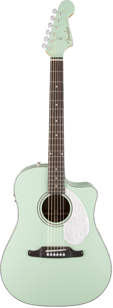 Fender Sonoran SCE Surf Green with Matching Headstock