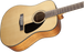Fender CD-60 Walnut Fingerboard Dreadnought V3 With Case - Natural