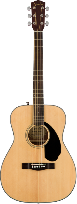Fender CC-60S Acoustic Guitar Natural Finish