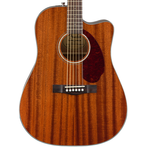 Fender CD-140SCE Walnut Fingerboard Dreadnought All-Mahogany With Case