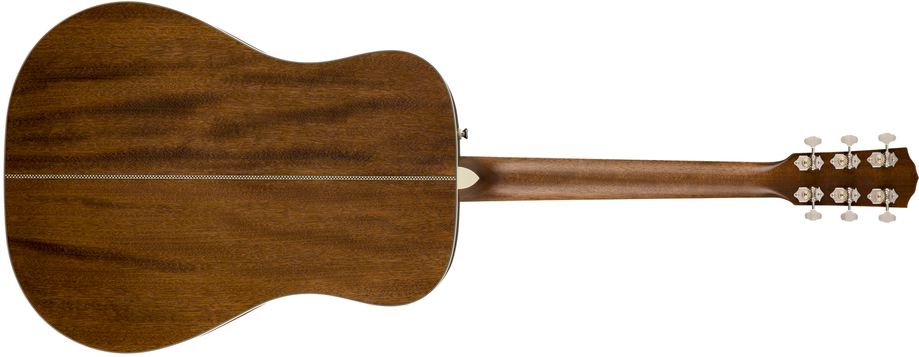 Fender PM-1 Dreadnought Left-Handed Ovangkol Fingerboard All-Mahogany Acoustic Guitar