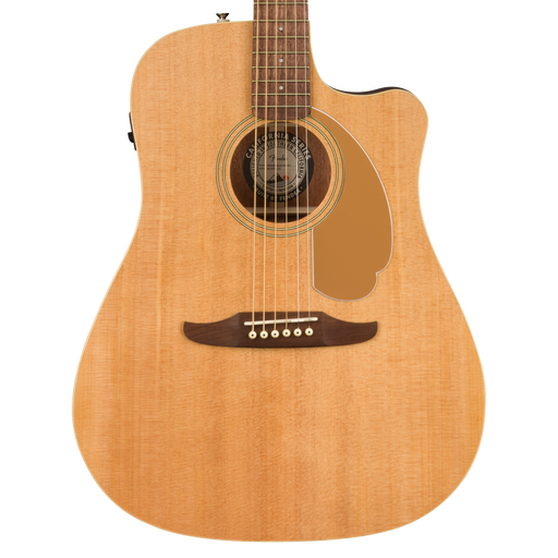 Fender Redondo Player Walnut Fingerboard Natural Acoustic Guitar