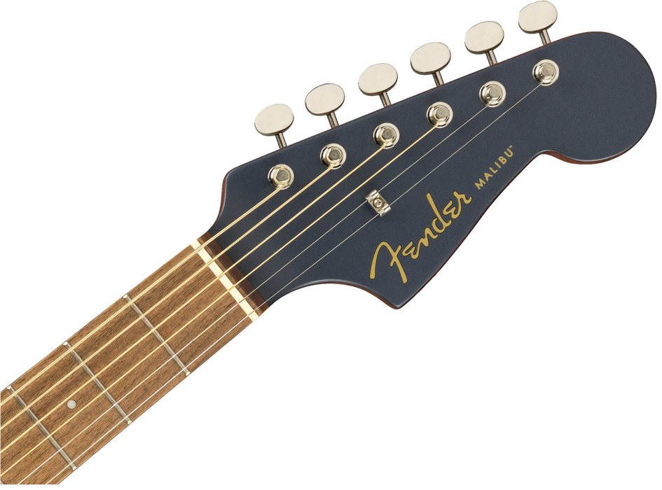 Fender California Series Malibu Player Acoustic Electric Guitar Midnight Satin
