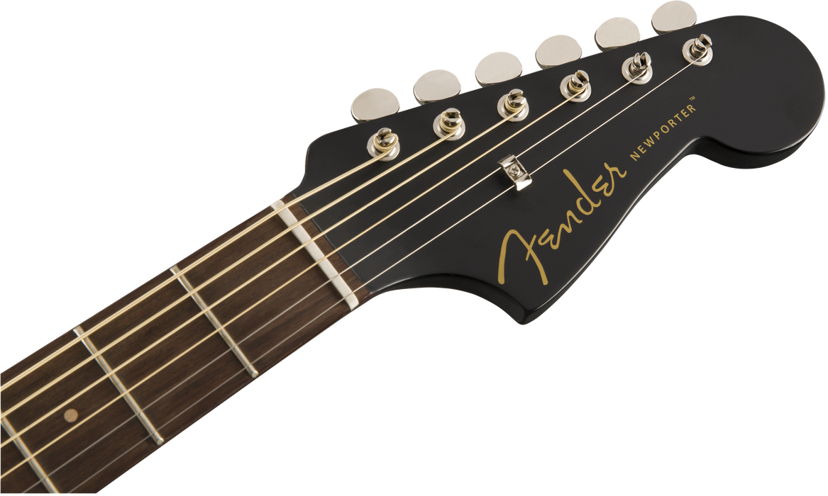 Fender Newporter Special Pau Ferro Fingerboard Matte Black With Bag