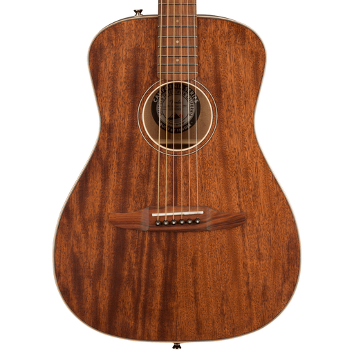 Fender Malibu Special All Mahogany Pau Ferro Fingerboard Natural Acoustic Guitar With Bag