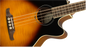 Fender FA-450CE Laurel Fingerboard Acoustic Bass - 3-Color Sunburst