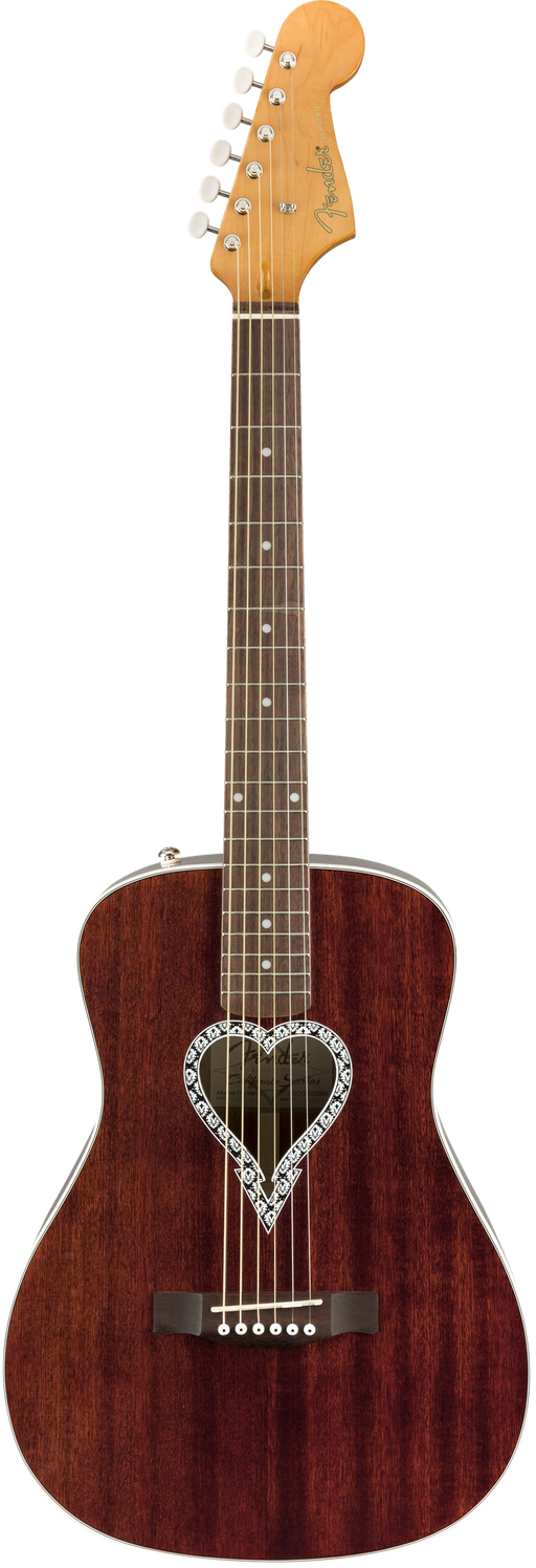 Fender Alkaline Trio Malibu Walnut Fingerboard Natural Acoustic Guitar