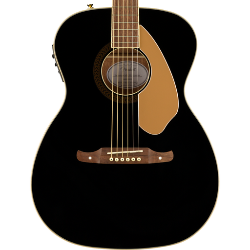 Fender Tim Armstrong 10th Anniversary Hellcat Walnut Fingerboard Black Acoustic Guitar