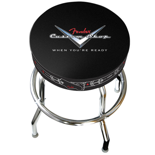 "Fender Custom Shop 24"" Pinstripe Barstool"