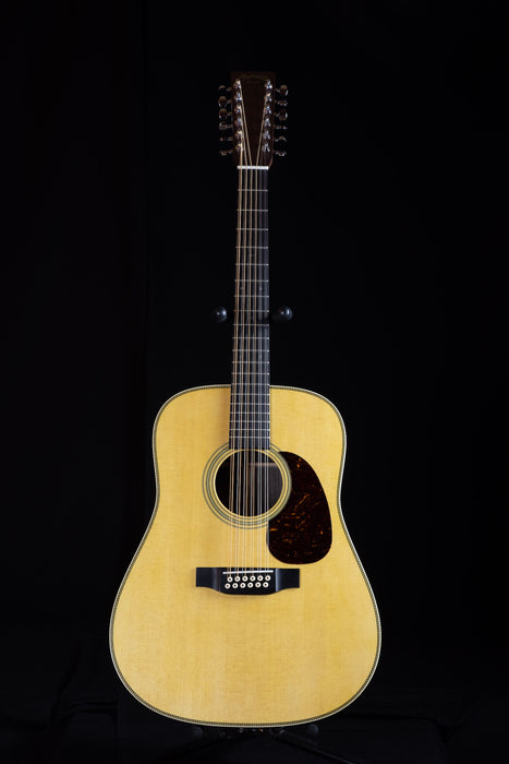 Martin HD12-28 12-String Acoustic Guitar With Case