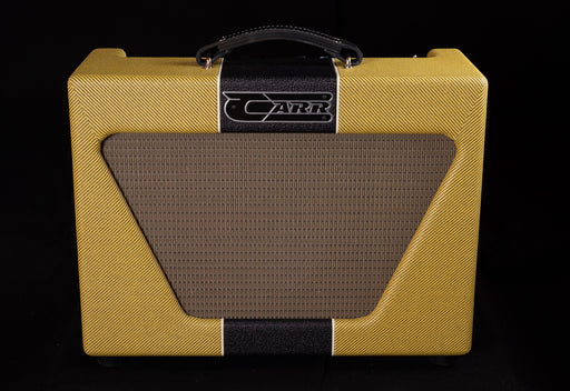 Carr 1x10 Super Bee Tweed with Black Tolex Stripe Combo Tube Guitar Amp