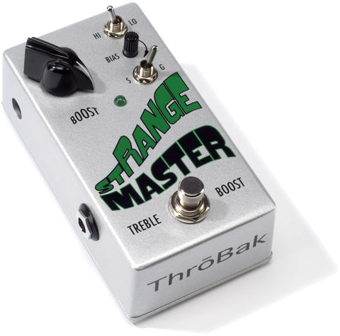 ThroBak Guitar Effects Pedals Strange Master Treble Booster