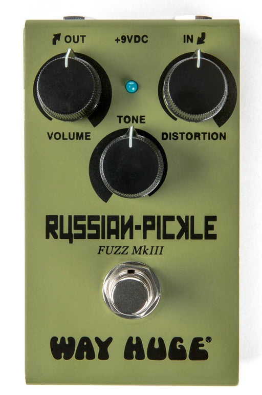 Way Huge Smalls WM42 Russian-Pickle Fuzz Guitar Effect Pedal Dunlop