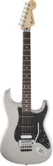 Fender Standard Stratocaster HSS with Floyd Rose Rosewood Ghost Silver