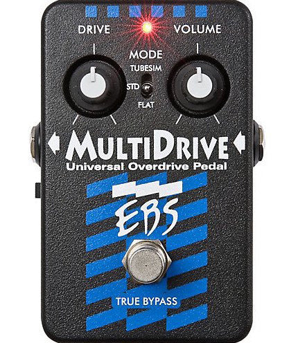 EBS MultiDrive Universal Overdrive Guitar Effect Pedal