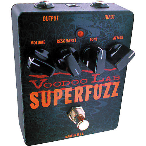 Voodoo Lab Superfuzz Fuzz Pedal