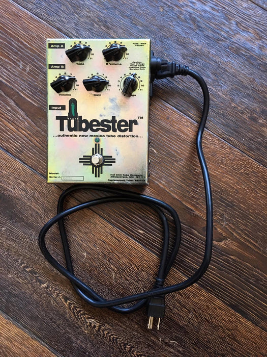 Used Hot Chili Tube Company Tubester Overdrive Guitar Effect Pedal w/ Power Supply