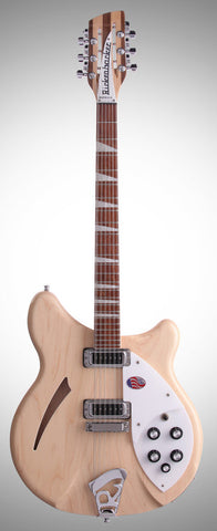 Rickenbacker 360/12 Mapleglo Semi Hollow Guitar With OHSC